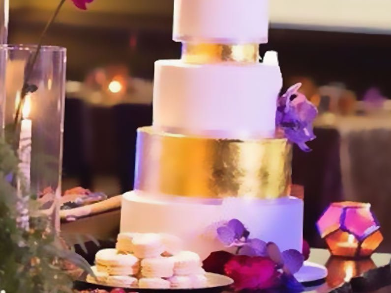 Glam any Cake with Edible Gold